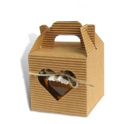 Darček- krabička so srdiečkom /medík/