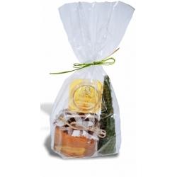 Darček /medík+ sviečka+balzam na pery/
