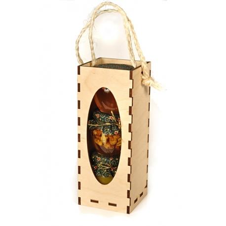 Tri druhy medu v drevenej krabičke