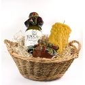 Darčekový košík s tokajským vínom II.