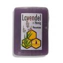 Medové levanduľové mydlo