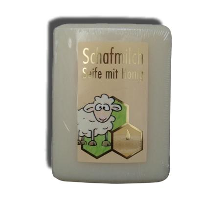 Medové mydlo s ovčím mliekom