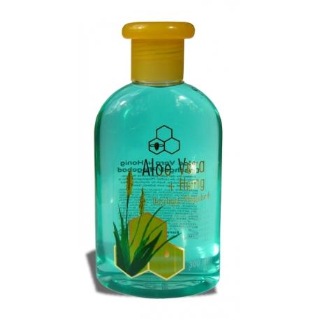 Sprchový gél med s aloe vera