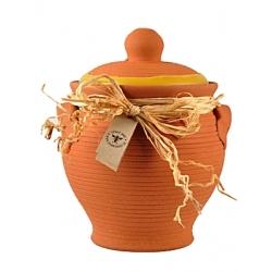 Včelí med v keramike