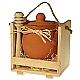 Med v keramike v drevenej odnoske /menší/ Med v keramike v drevenej odnoske/väčší/