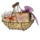 Darčekový košík - levanduľa s mydlom