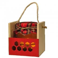 Darčekový med 380 g -červená