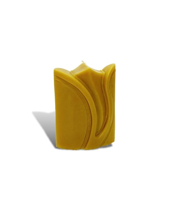 Sviečka z včelieho vosku - kvet