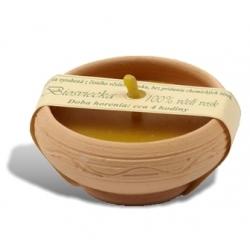 Sviečka v keramike