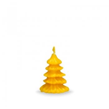 Vosková sviečka mini stromček