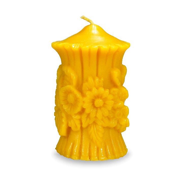 Sviečka vosková kytica