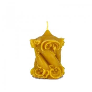 Vosková sviečka ornamentová