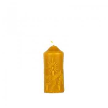 Vosková sviečka vianočná