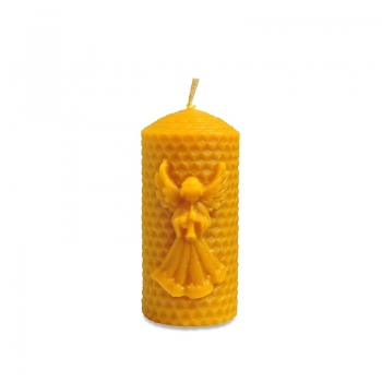 Vosková sviečka s anjelom
